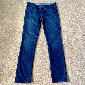 Gap Real Straight Dark Wash Jeans
